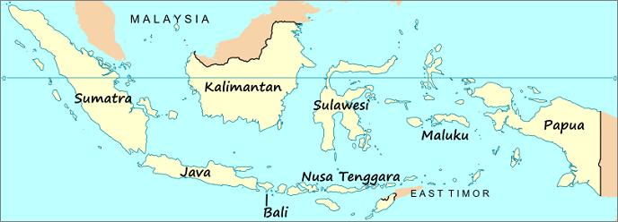 Map-of-Indonesia-Sumatra-Java-Bali-Kalimantan-Sulawesi